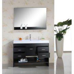 Design A Bathroom Vanity Online Amusing Marcus 48Inch Single Sink Bathroom Vanity Set  Interior Design Inspiration