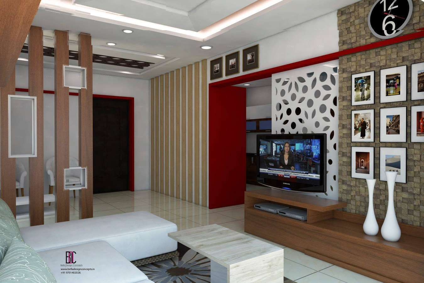 Mandir Designs In Living Room - Home Design