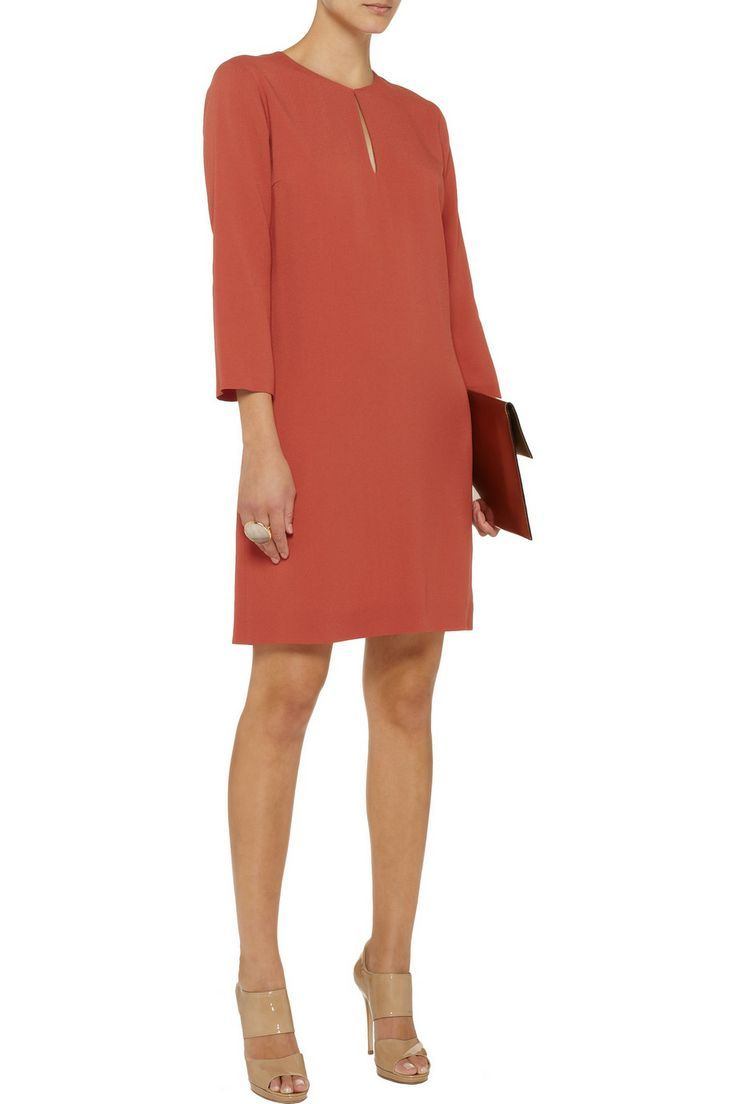 calvin klein collection havant crepe dress | elegante