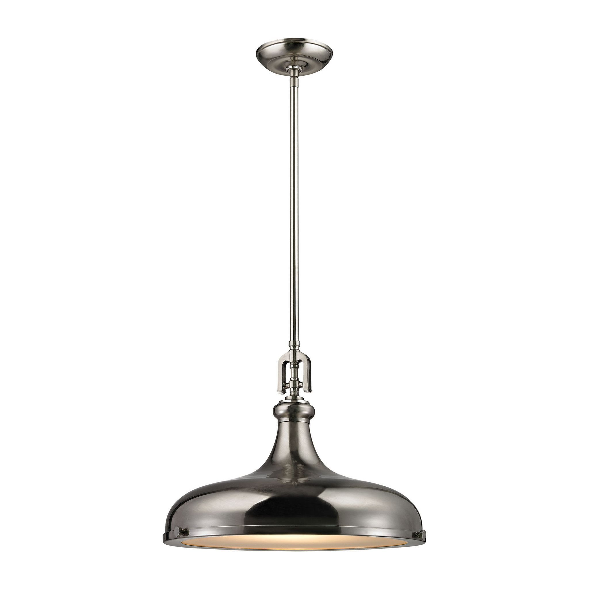 ELK Lighting 57052/1 Rutherford Collection Brushed Nickel Finish
