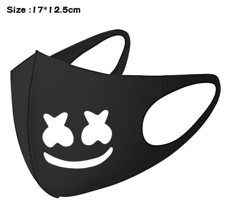 masque de bouche anime manga anti poussiere