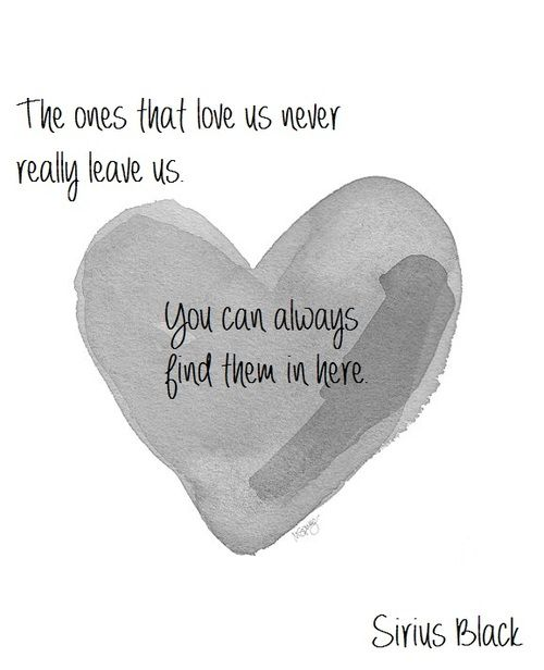 Image result for the ones that love us never really leave us