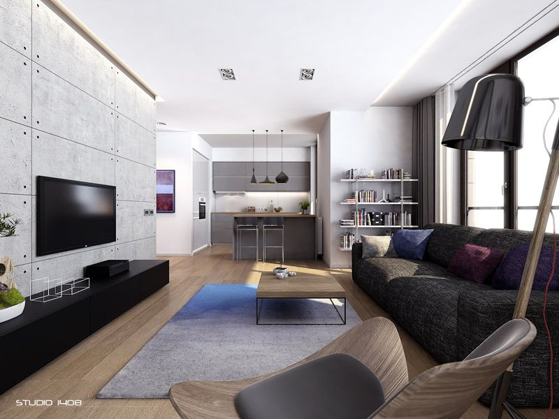 Apartment Living For The Modern Minimalist By Studio 1408 Modern