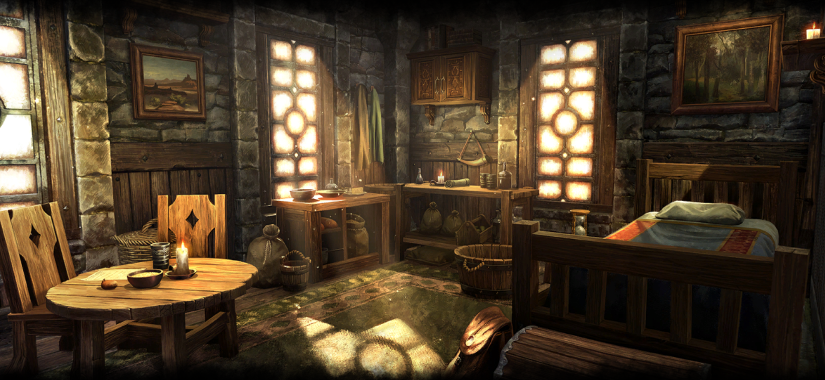 Eso Housing Loading Screen For Apartments Skyrim House Skyrim