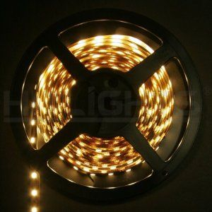 Amazon Com Hitlights High Brightness Smd5050 Warm White Double Density 300 Led Lighting Strip 72watt 5m Or 16 Led Light Strips Led Tape Lighting Tape Lights