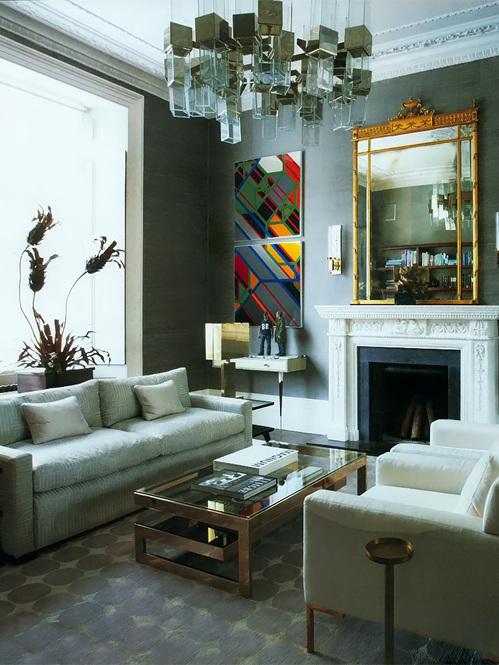 Peter Mikic S London Home Elle Decor April 2012 Home Decor