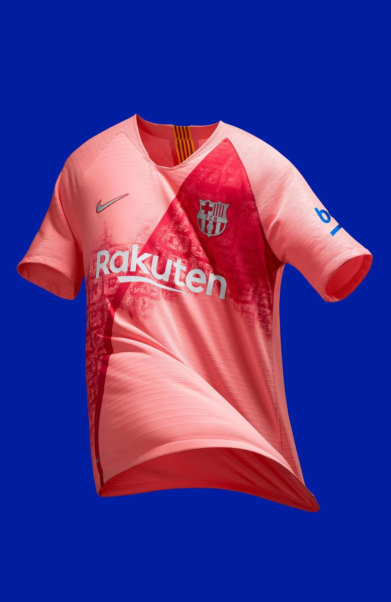 Barcelona 18 19 Third Kit  bae9fb7b7f782