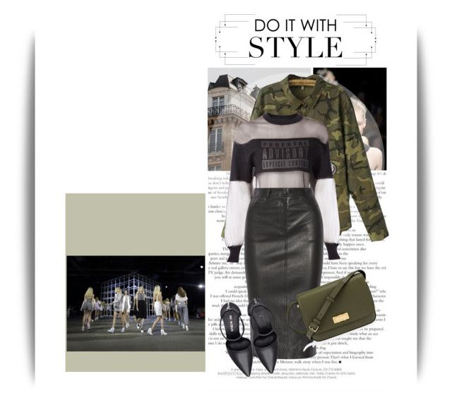 """""""Do it with style"""" by emeliet ❤ liked on Polyvore featuring Chanel, Henri Bendel, Neeya, Alexander Wang, Joseph and Nine West"""