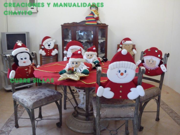 Ideas para decoracion de sillas para navidad ideas para - Adornos navidenos para sillas ...