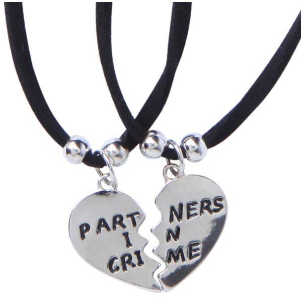 lovesick partners in crime choker best friends set