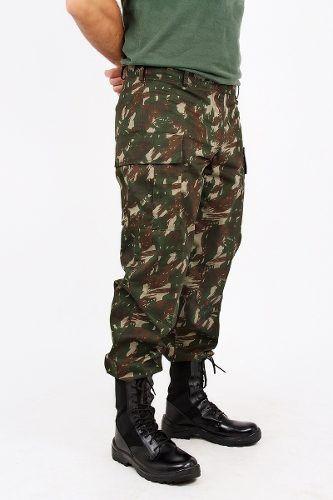 Calça Tática Camuflada de Combate Exército Swat Paintball Airsoft - Rip  Stop - Cedro Profissional 59bb633ff16