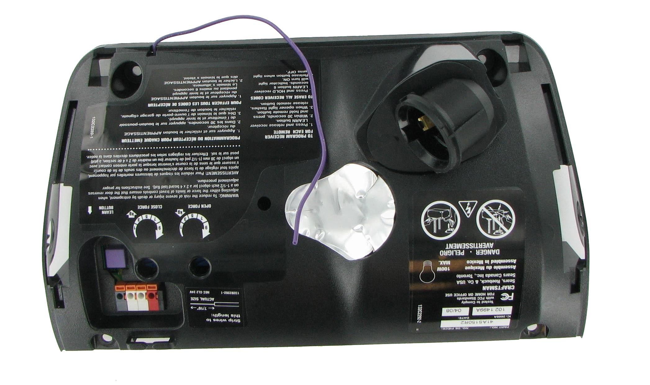 Chamberlain 41as150r2 Home Garage Door Opener Logic Board Chamberlain Garage Door Garage Doors Garage Door Opener Remote