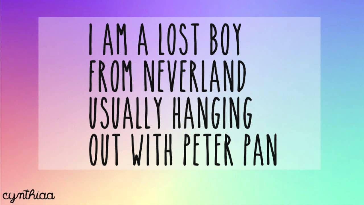 Lost Boy Ruth B LYRICS I LOOOOOVVVE THIS SONG! Lost