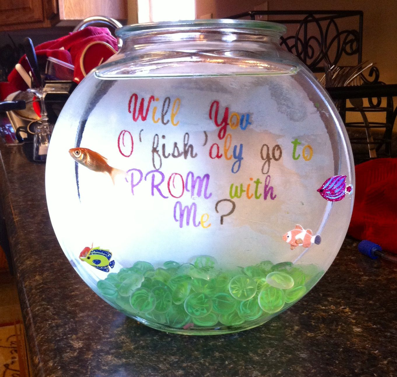 Will You O Fish Aly Go To Prom With Me Cute Ways To Get