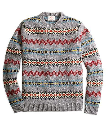 The Red Fleece Collection. Made from a wool blend. Crewneck with ...