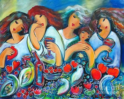 Gaggle of Gals by Ronnie Biccard