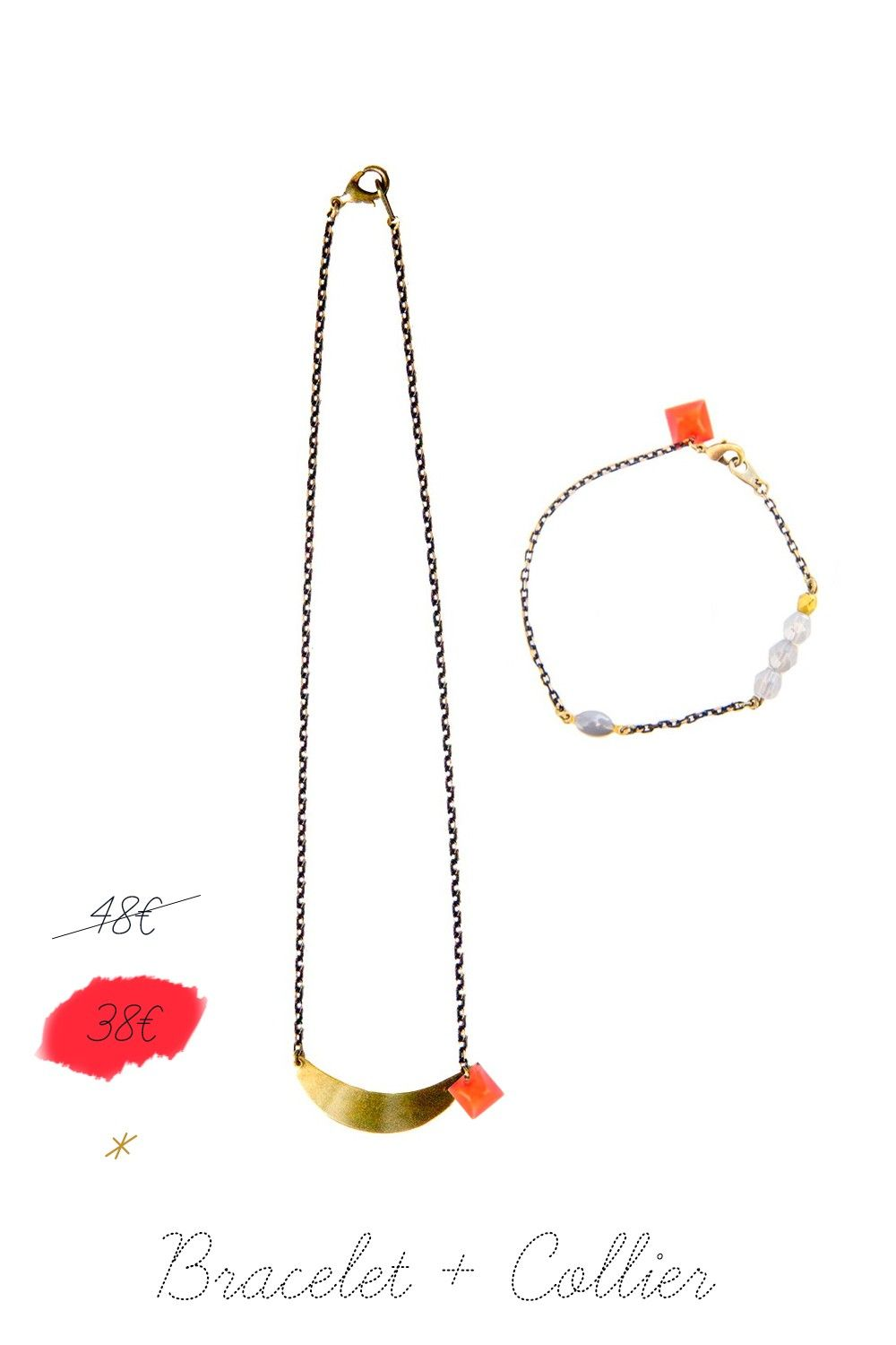 Bracelet   Collier via audreyl-creation. Click on the image to see more!