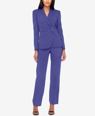 7d3c40e30612 Tahari ASL Asymmetrical Pantsuit. Tahari ASL Asymmetrical Pantsuit Work Wear,  Suit Jacket ...