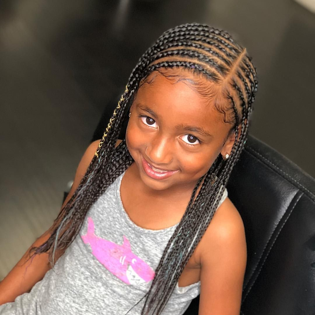 Natural Hair Braided Hairstyles For Black Kids