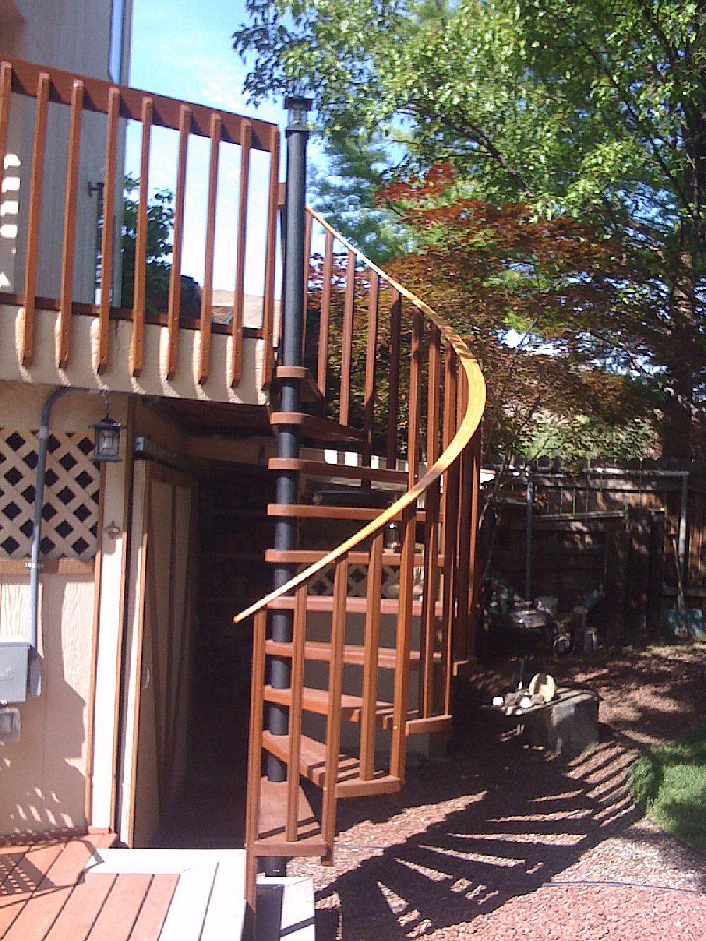 Best Image Result For Deck With Spiral Staircase Spiral 400 x 300
