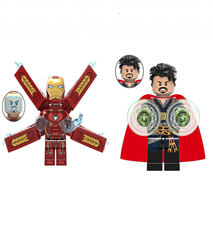 Iron Man Doctor Strange minifigures Lego Avengers Infinity ...