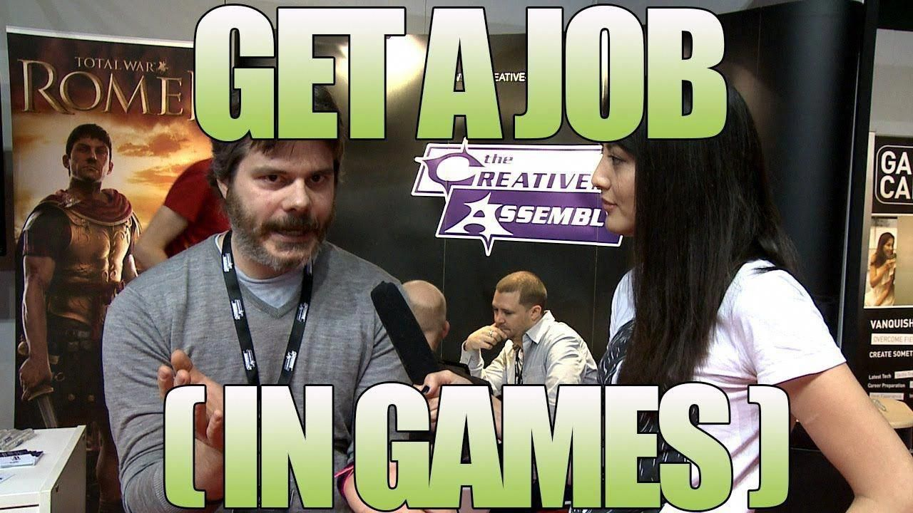 How to Get a Job in Video Games - Gaming Jobs - Tips from