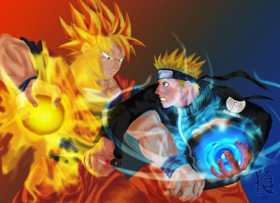 Son Goku VS Uzumaki Naruto  Son Goku VS Uzumaki Naruto