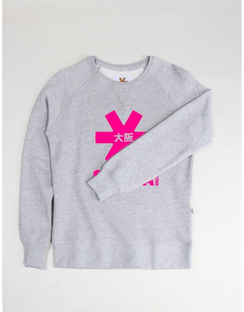 ae8f47dcb40 Woman standard sweater with pink Osaka logo | osaka | Hockey sweater ...