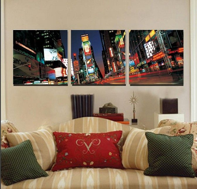 living room wall canvas - Google Search Wall canvas Pinterest