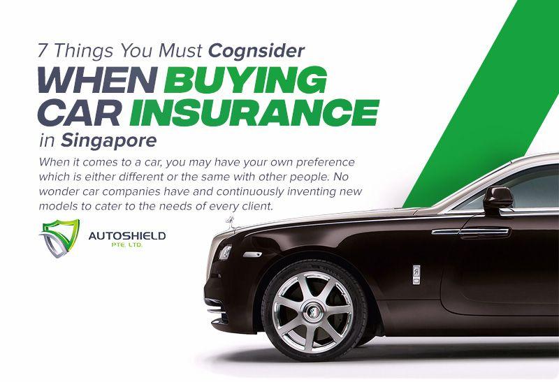 Insurance Car Singapore