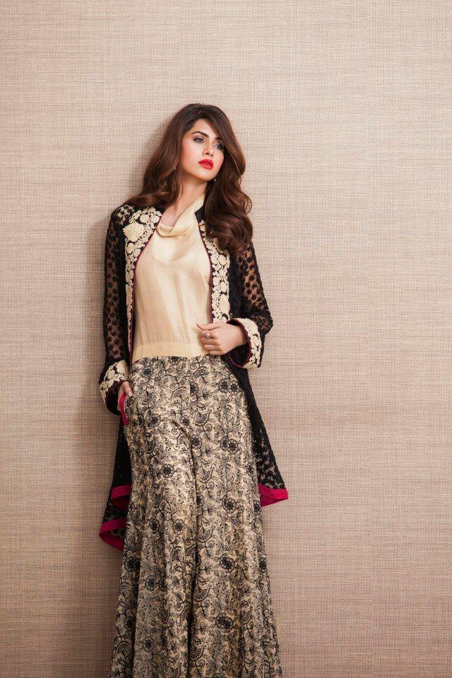 22e31180f0 Zainab Chottani Latest Eid Pret Exhibition 2014 | Latest Fashion in ...