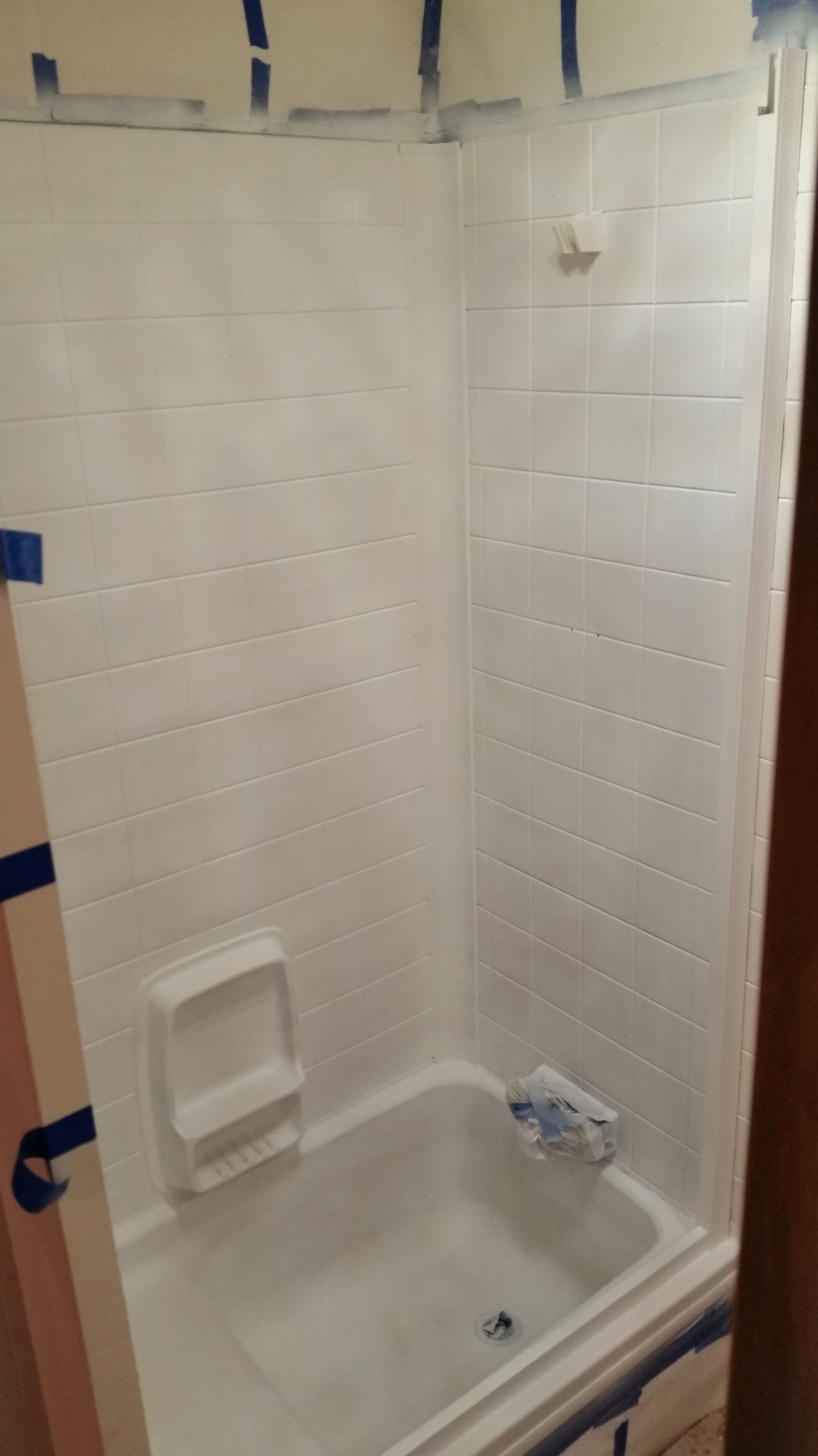 RV Bathroom Remodel The Shower Nurse Barb Blog Before And - Bathroom shower remodel on a budget