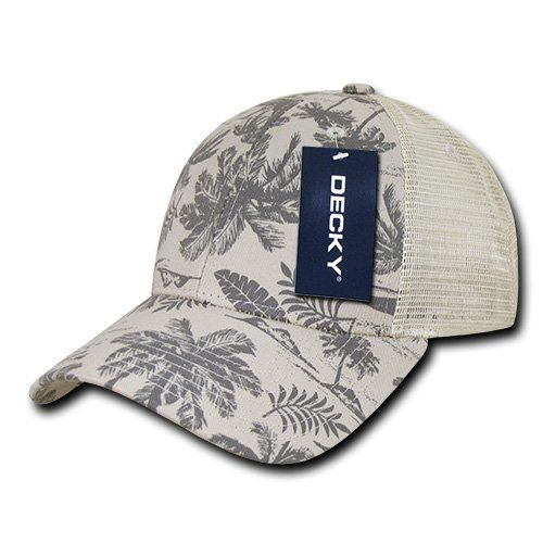 f4eebee711591 DECKY Tropical Trucker Caps