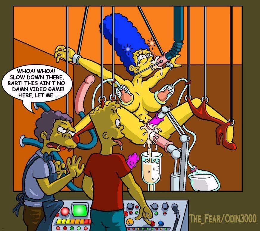 Simpsonovi porno komiksy lesbička kočička jíst do orgasmu