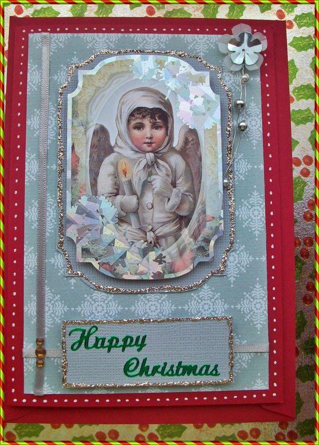 victorian style christmas card £200  victorian christmas