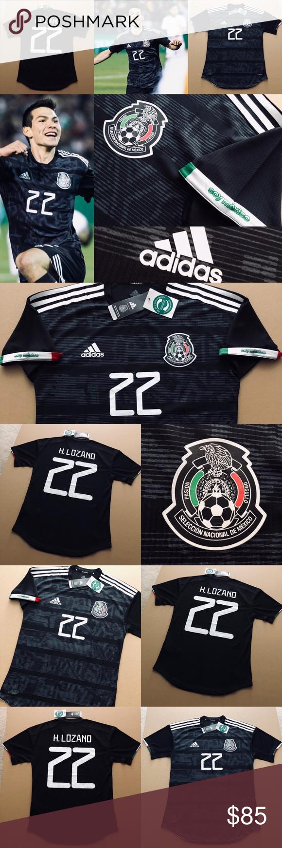 detailed look 6a2bf a80b1 2019 MEXICO Hirving Lozano 22 Soccer Jersey CHUCKY 2019 ...
