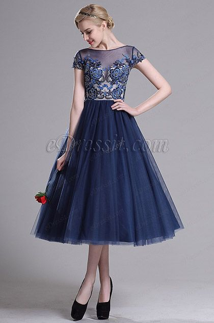 463851b779 Looking for low price but high quality eDressit Navy Blue Illusion Neck Cocktail  Party Dress (04161805)? eDressit.com can custom-made for you!