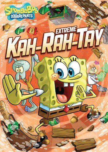 SpongeBob Squarepants Extreme Kah-Rah-Tay DVD Review & Giveaway (US) - Simply Stacie