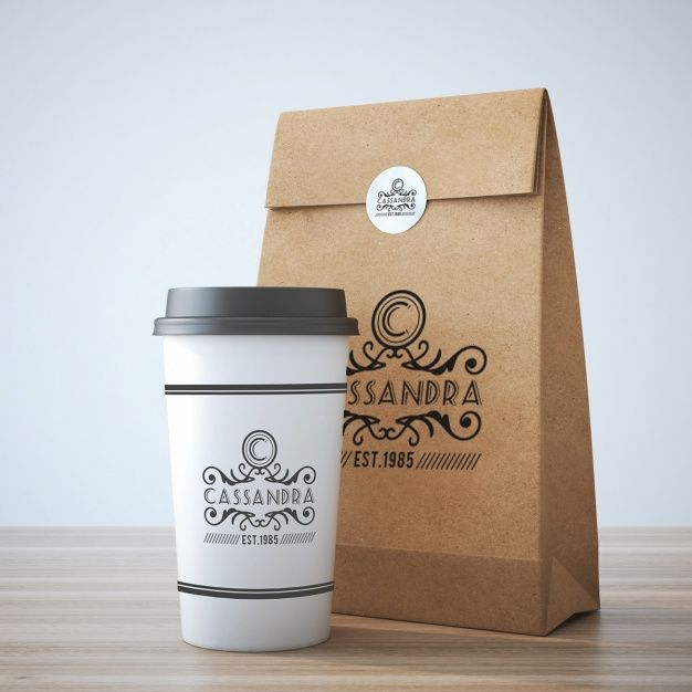 Download Freepik Des Ressources Graphiques Pour Tous Take Away Coffee Cup Coffee Packaging Coffee Cup Design