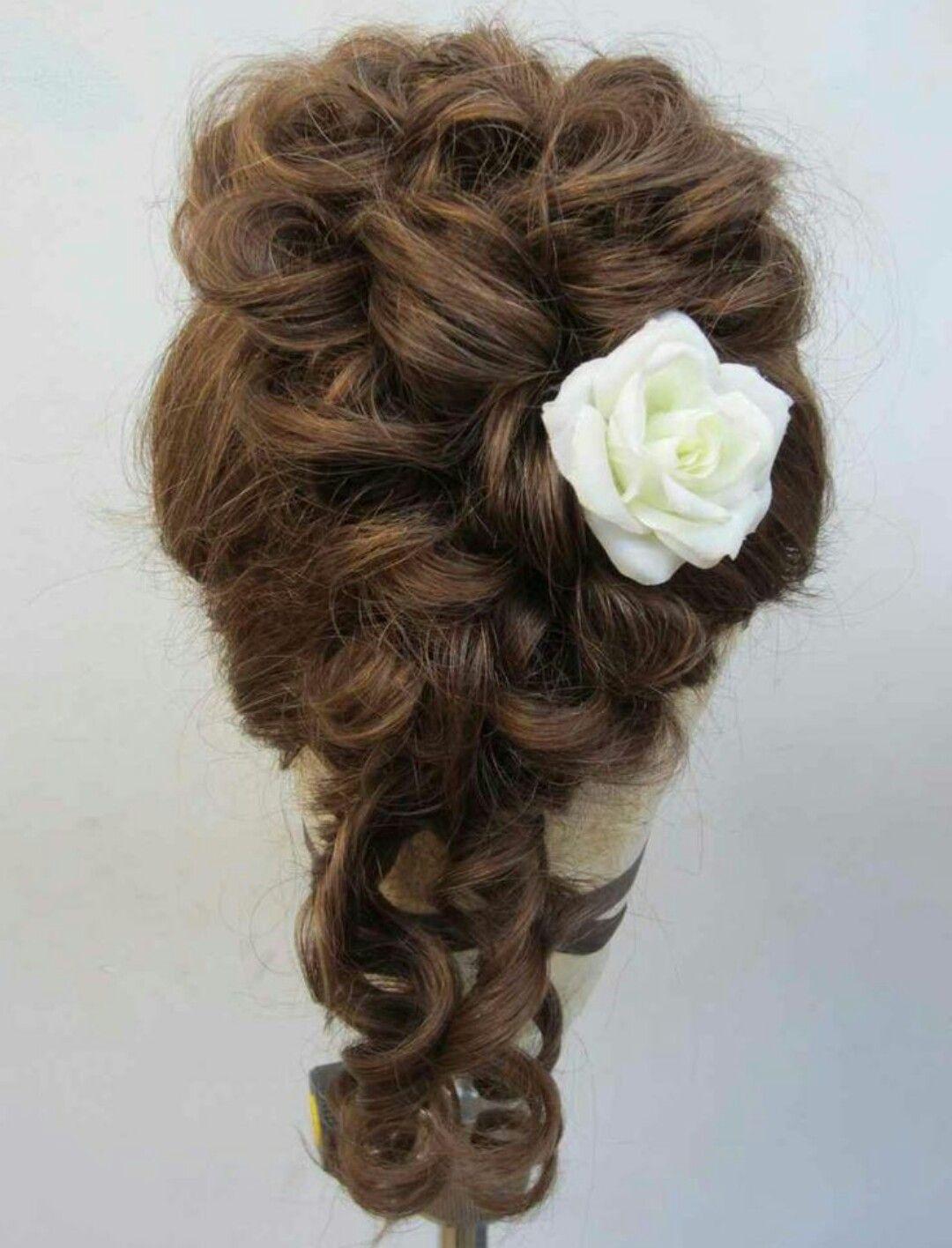 Victorian hairstyle Victorian hairstyles, Edwardian