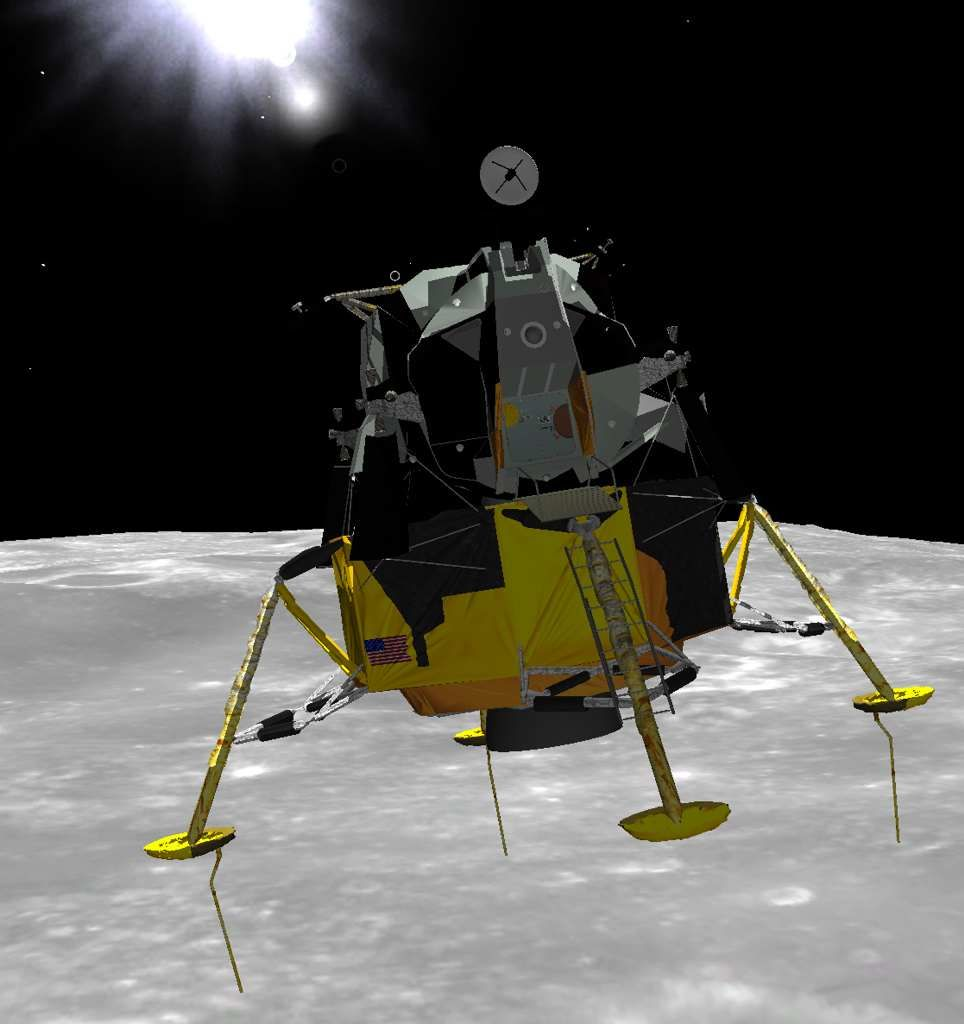 lunar landing in space - photo #40