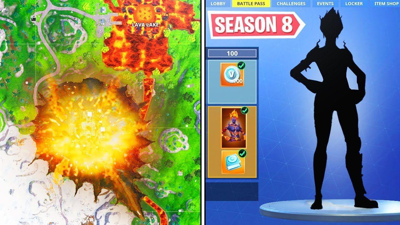 New Season 8 Update In Fortnite Fortnite Season 8 In 2019