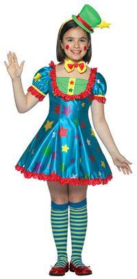 Star Clown Payasita Estrella Vestidos De Payasitas