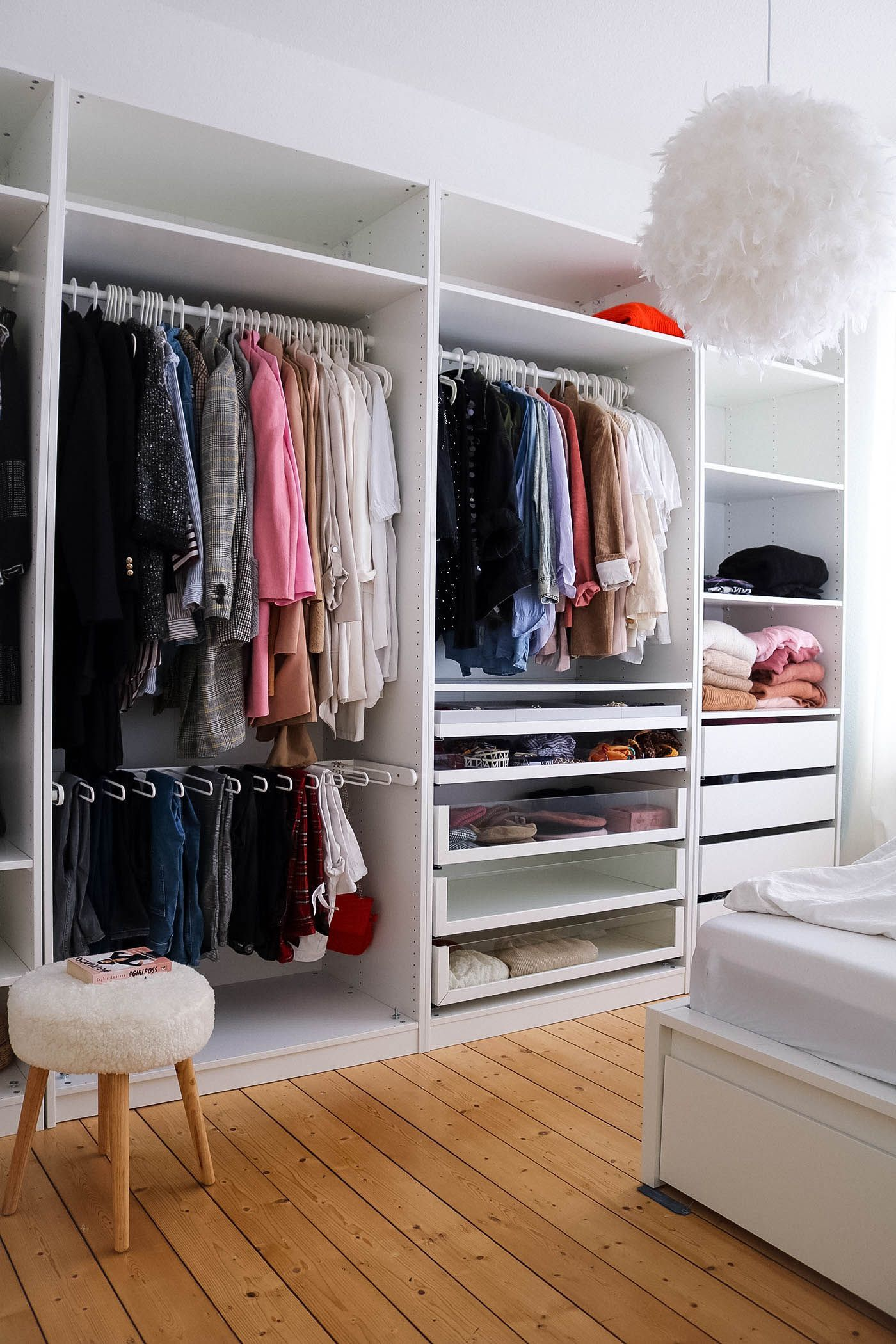 Excellent Photos Flat Home Interior Ikea Pax Wardrobe Inspo