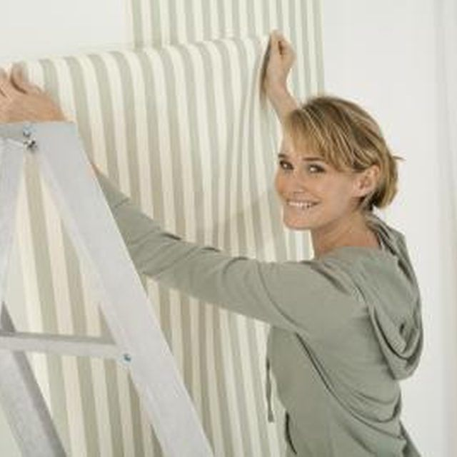 How To Put Wallpaper Over Ceramic Tile Paintable
