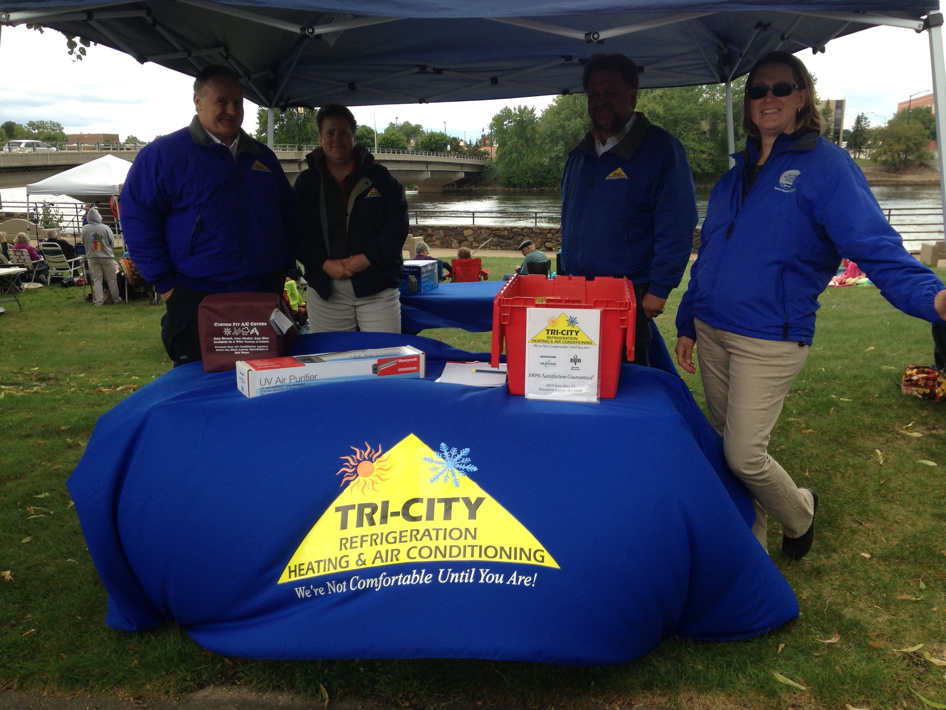 Lunch By The River Event Sponsor Try City Refrigeration Heating