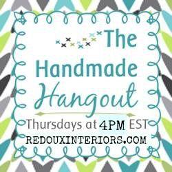 The Hnadmade Hangout THursdays @ 4