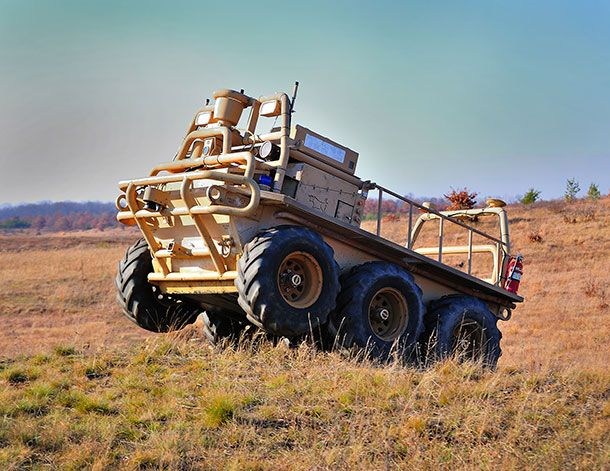 humanoides fr lockheed martin smss Lockheed Martin veut robotiser les convois militaires