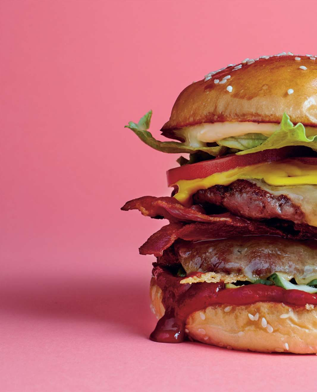 Theo - Double cheeseburger with bacon by Daniel Wilson from The Huxtaburger Book