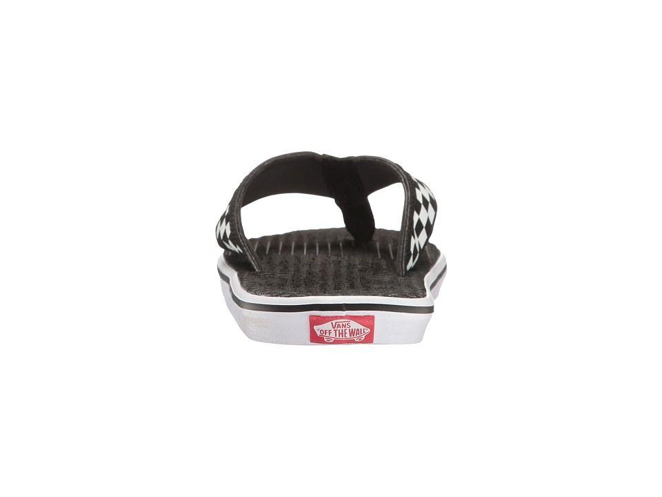 cf1a8dc0f329 Vans La Costa Lite Men s Sandals (Checkerboard) Black White